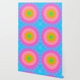 mandala dahlia Wallpaper