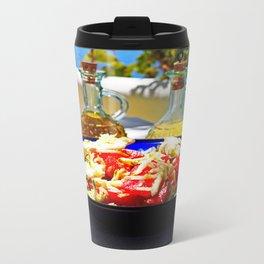Aegean salad Metal Travel Mug