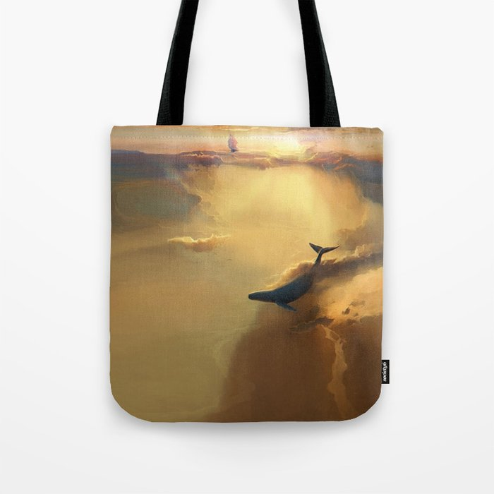 In the sea of gold Tote Bag
