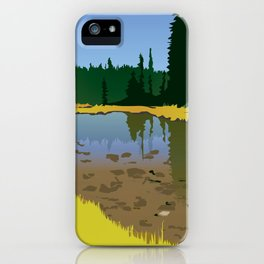 Junction Lake iPhone Case