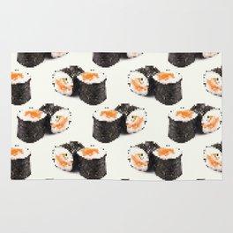 pixel sushi Rug