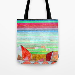 Paul Klee View into Fertile Country Tote Bag