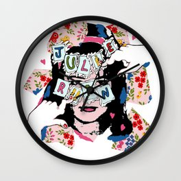 JuLiE RuiN!!! Wall Clock