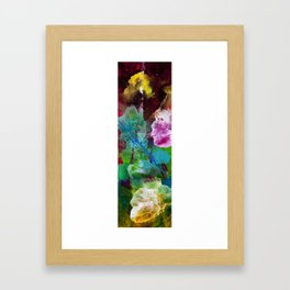 Explosions in Space Framed Art Print