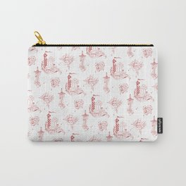 Gryffindor Toile Carry-All Pouch