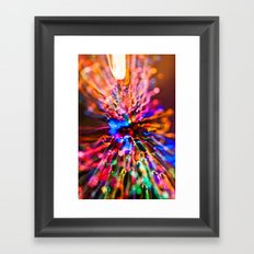 Into the Vortex Framed Art Print