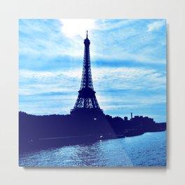 Mystical Eiffel Tower Metal Print