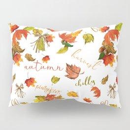 Autumn Leaves Hello Fall! Pillow Sham
