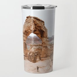 Early Morning at Delicate Arch Travel Mug