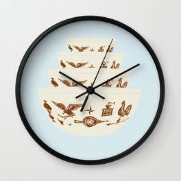 Early American Pyrex Wall Clock
