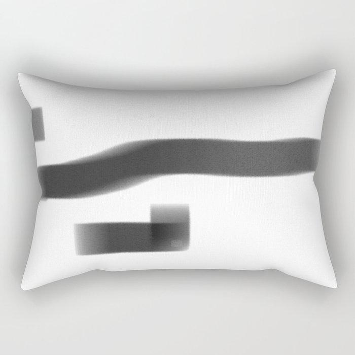 the elephant Rectangular Pillow