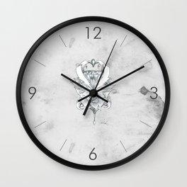 Lightning Crest Wall Clock