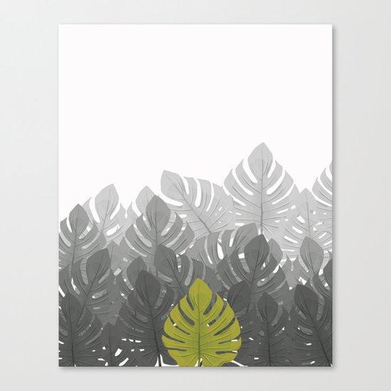 Tropical leaves 03 Canvas Print