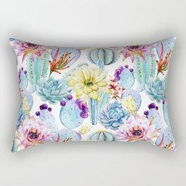 Cactus Pattern 11 Rectangular Pillow