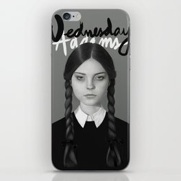 Wednesday Addams iPhone Skin
