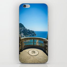 Chateau View in Nice iPhone Skin