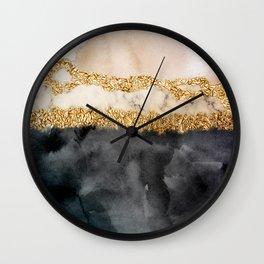 Stormy days V Wall Clock