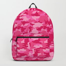 Army Camouflage Pink Pattern Background Backpack