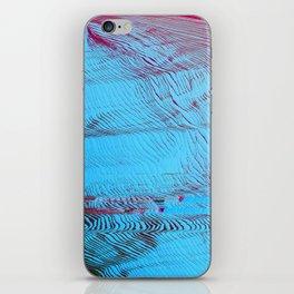 MEMORY MOSH - Glitch Art Print iPhone Skin
