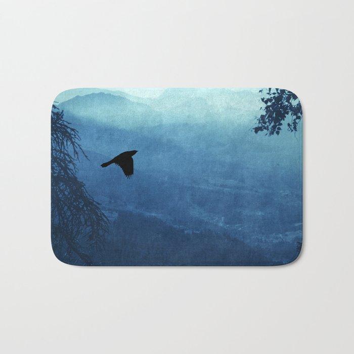 Blue Mountain Haze Bath Mat