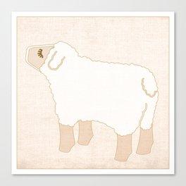 Sheep Animal Farm Series Canvas Print