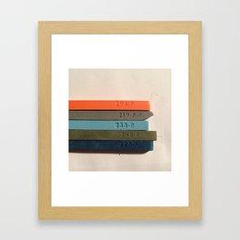 Chosen Colors Framed Art Print