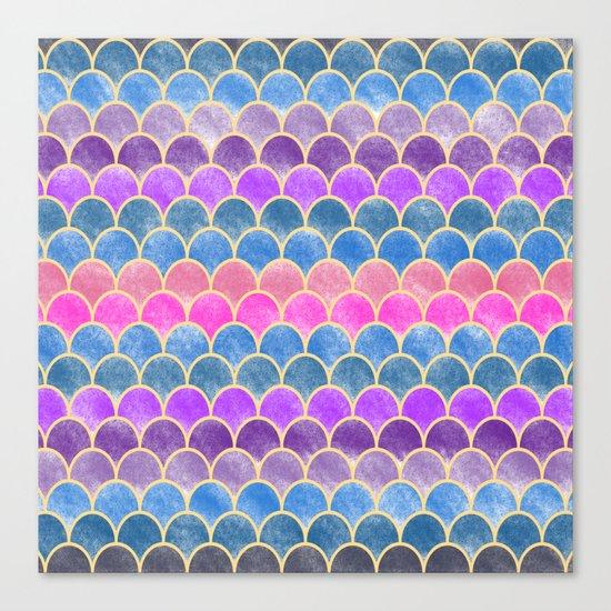 Lovely Pattern VI (Glitter Version) Canvas Print