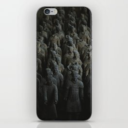 Terra-cotta Warriors of Xian China iPhone Skin