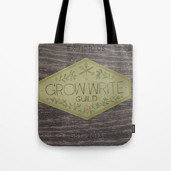 Grow Write Guild Seal Tote Bag