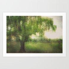 weatherstill Art Print