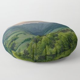 Panorama of Slovakia - Landscape and Nature Photography Art Print Art Print Floor Pillow