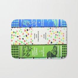 Pretty Book Stack - Part 1 Bath Mat