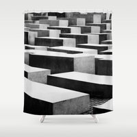 berlin Shower Curtains featuring Berlin by Studio Laura Campanella