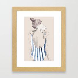 Daughter Framed Art Print