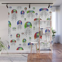JELLYFISH BLOOM Wall Mural