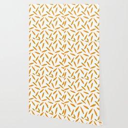 CARROT CARROTS VEGGIE FOOD PATTERN Wallpaper