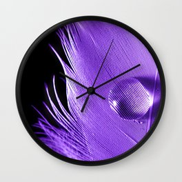 Natures Magnifying Glass Wall Clock