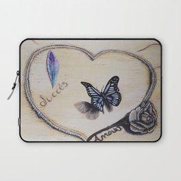L'amour laisse ses traces Laptop Sleeve