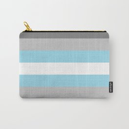 Demiboy Pride Flag Carry-All Pouch