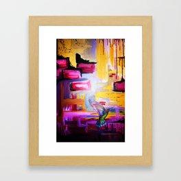 Fly On The Wall Framed Art Print