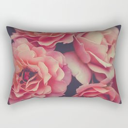 Roses in the night garden Rectangular Pillow