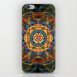 The Sri Yantra - Sacred Geometry iPhone Skin