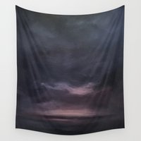 night sky Wall Tapestries featuring Night Sky by cargline