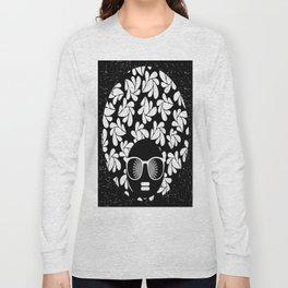 Afro Diva : Black & White Long Sleeve T-shirt
