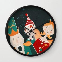 The XMas Crew Wall Clock