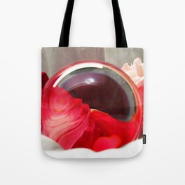 Red Rose Swirl, Mother's Day, Valentine's Day, Anniversary Art Print, Tote Bag