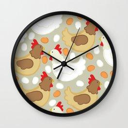 Hen House Wall Clock