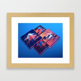 Transitions XXXV - Parallels Framed Art Print