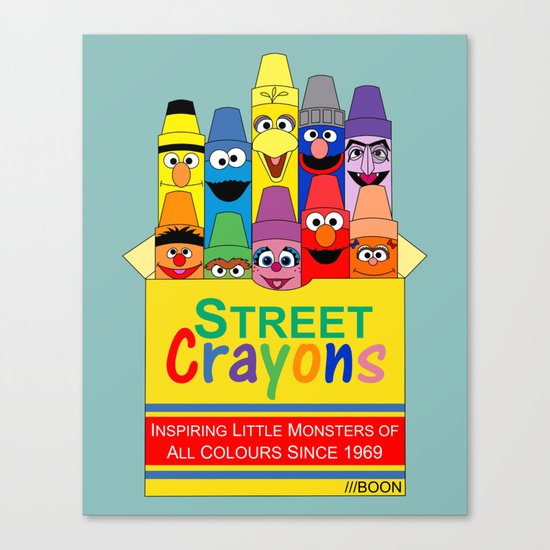 Color Me Sesame Canvas Print