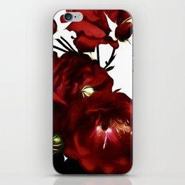 Red Love Rose  II iPhone Skin